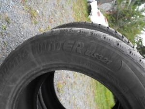 2 Winter Studded Tires 225 60 R16