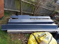 Metal Sheet Roofing, Anthracite Grey, Ridge, barge, building materials