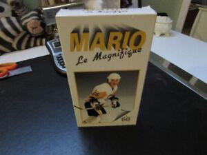Mario Lemieux Wayne Gretzky , Mark Messier NHL 9  VHS