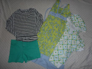 Girl's Size 8-12 Summer Clothing