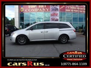 2013 Honda Odyssey DVDFree 2 Year Warranty Unlimited KM Warranty
