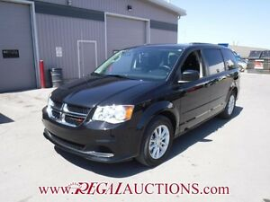 2015 DODGE GRAND CARAVAN SXT WAGON 3.6L SXT