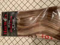 Brand new human hair clip in extensions $100