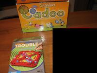 Jeux de société pour enfants - Cadoo et Trouble