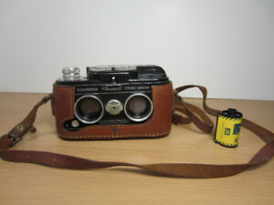 Sawyers View-Master Personal Stereo 35mm Camera w/Leather Case