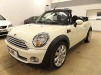 MINI CONVERTIBLE COOPER, White, Manual, Petrol, 2009