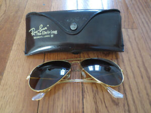 Vintage Ray Ban Sunglasses with Original Case