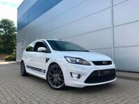 2008 08 Ford Focus 2.5 ST2 WHITE 3dr FACELIFT MODEL+ 321 BHP + DYNO + Nice spec