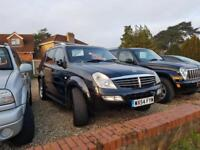 CHOICE OF TWO Ssangyong Rexton 2.7TD 2004 RX 270 SE 4x4 estate