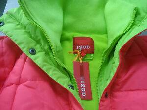 Brand new with tag IZOD Coral Winter Puffer Coat - Girls Size 14 Kitchener / Waterloo Kitchener Area image 6