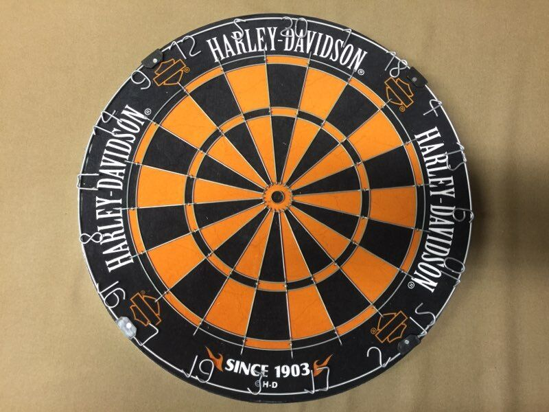 harley davidson traditional hd steel tip dartboard