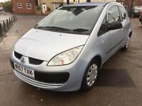 2007 Mitsubishi Colt 1.1 CZ1 68,000 MILES LADY OWNER LAST 7 YEARS
