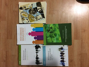 Selling Human Resources Textbooks Stratford Kitchener Area image 1