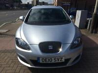 2010 Seat Leon 1.6TDI CR Ecomotive S Diesel Zero Road Tax 1 Owner Low Miles