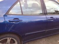 Lexus is200 any door blue 8m6 complete 98-05 breaking spares is 200 is300