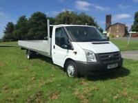 Ford Transit T350 125 3.5T. New **EXTRA LONG** 20FT (6M) Dropside Only 39221m.