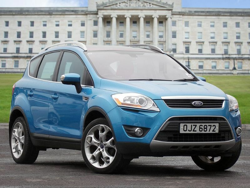 ford kuga 2 0 tdci titanium 4x4 5dr blue 2009 in. Black Bedroom Furniture Sets. Home Design Ideas