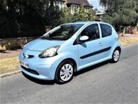 2007 Toyota AYGO 1.4 Diesel + LHD + LEFT HAND DRIVE + ONLY 70K + A/C