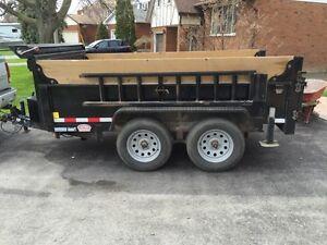 2014 tandem axle dump trailer