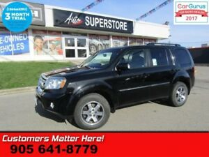 2011 Honda Pilot Touring  4X4 NAV BT LEATHER CAMERA ROOF PWR GAT