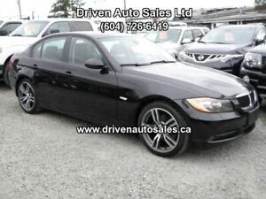 2008 BMW 3-Series 328ix AWD X-Drive 6 Speed Manual Low Km! Sedan