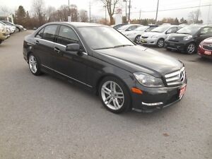 2013 Mercedes-Benz C-Class C300 4MATIC Sport Sedan Peterborough Peterborough Area image 8