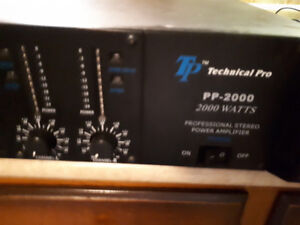 TP pp2000 power amp