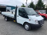 Ford Transit 2.2TDCi extra lwb 125PS one stop dropside 2014 63 reg
