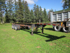 Tridem Container trailers