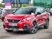 2017 Peugeot 3008 1.6 BlueHDi 120 GT Line 5dr Estate Diesel Manual