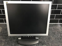 ViewSonic 15 Inch Monitor with VGA and Power Cable