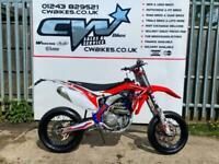 CWR 450R SUPERMOTO ROAD LEGAL MOTORCROSS BIKE ENDURO CRF YZF