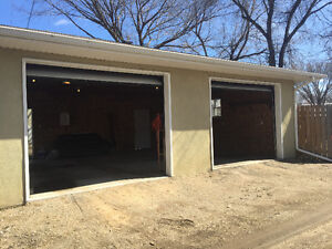 Double car garage available August 1st!
