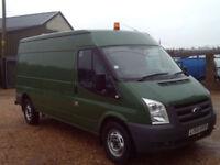 Ford Transit 2.4TDCi Duratorq ( 115PS ) LWB ( Med Roof ) Van 350 LWB LOW MILES