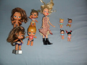 bratz dolls and accessories lot