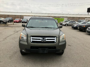 2006 Honda Pilot. CERTIFIED, E TESTED, WARRANTY, NO ACCIDENT