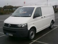 2010 60 VW VOLKSWAGEN TRANSPORTER 2.0 TDi 84PS T28 T5 SWB PANEL VAN WHITE