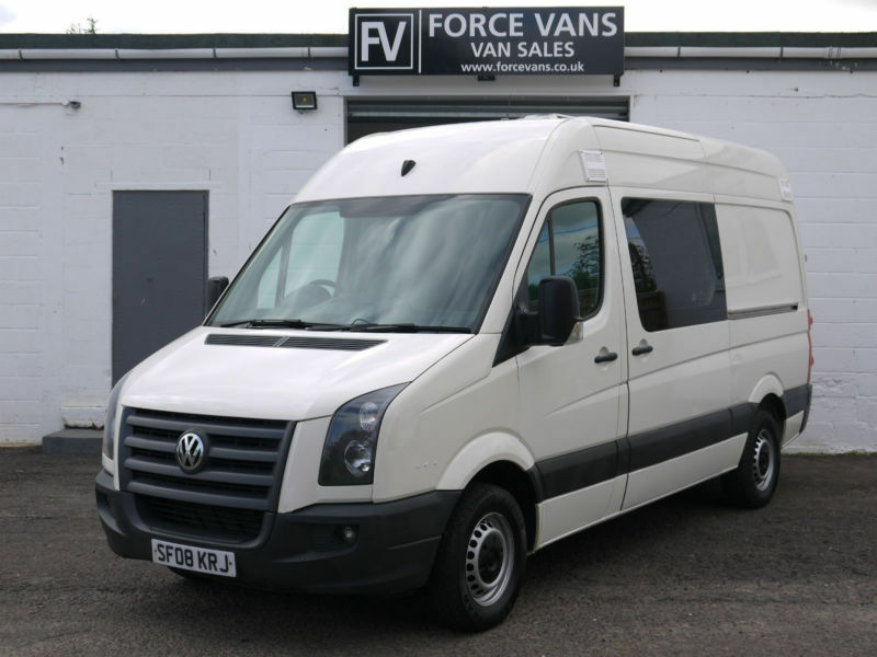 volkswagen crafter 2 5tdi cr35 mwb minibus crew camper. Black Bedroom Furniture Sets. Home Design Ideas