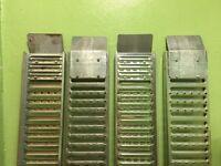 Galvanized steel loading ramps