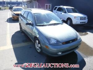 2003 FORD FOCUS ZTW 4D WAGON ZTW