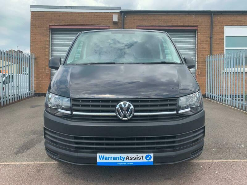 2016 66 Volkswagen Transporter 2 0TDI 102PS EU6 SWB T28 BMT Black AdBlue NO  VAT | in Leicester, Leicestershire | Gumtree