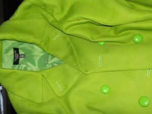 Green Jacket, Size 14P