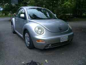 1999 Volkswagen Beetle Grey Coupe (2 door)