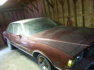 1978 monte carlo all original with factory moon roof