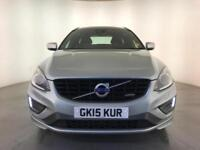2015 VOLVO XC60 R-DESIGN LUX NAV D4 AUTOMATIC 1 OWNER VOLVO SERVICE HISTORY