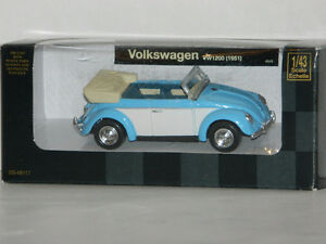 New Ray 1/43 Scale 1951 Volkswagen VW1200 Diecast Car Blue