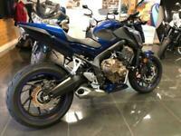 Honda CB 650 fa,blue,1 owner,dealer history 9k,standard bike,hpi clear,lovely...