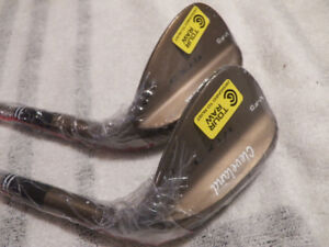 NEW RH CLEVELAND V-FG RTX-3 TOUR RAW GOLF WEDGE SET 56 AND 60