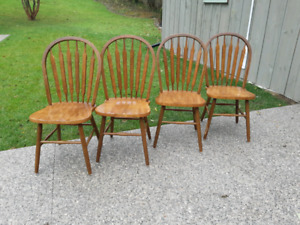 Hardwood Dining Chairs *Delivery Available*