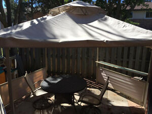 Backyard Gazebo-Canopy only used 1 season!